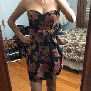 Mini multicolor dress